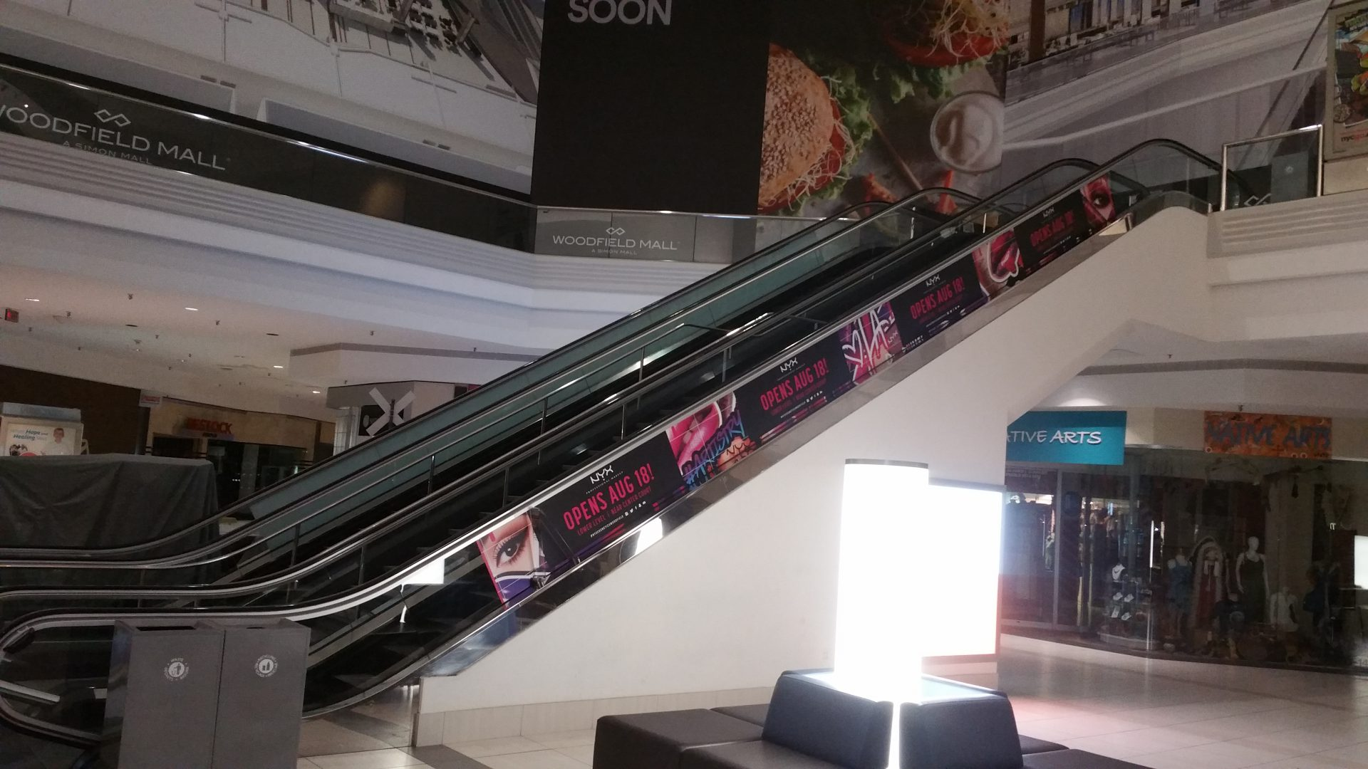 Elevator Wraps And Escalator Graphics