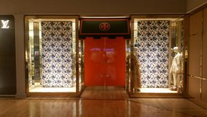 Tory Burch Retail Graphics