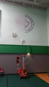 St. Mary's High School Gym Graphics