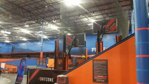 Skyzone Louisville Visual Identity Wall Graphics & Banners