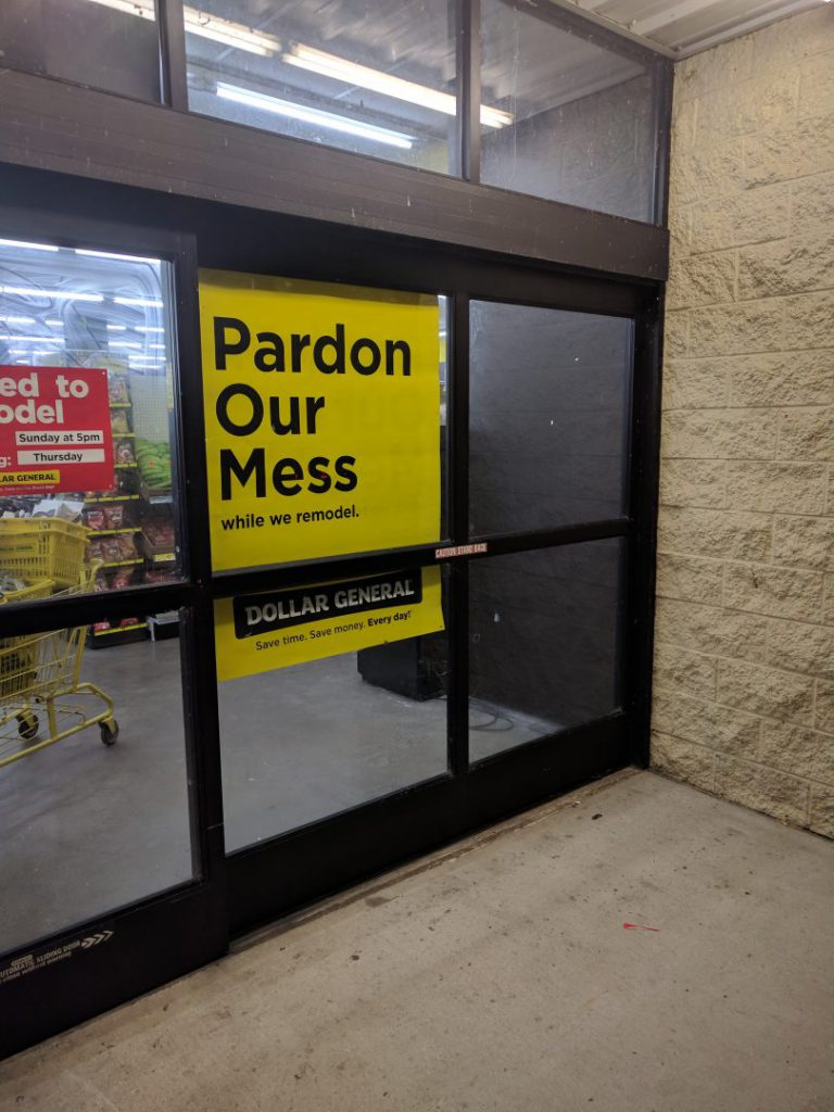 Retail Signs - Window Graphics