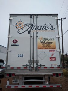 Fleet Graphics For Tractor Trailer Truck