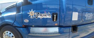 Fleet Graphics For Tractor Trailers