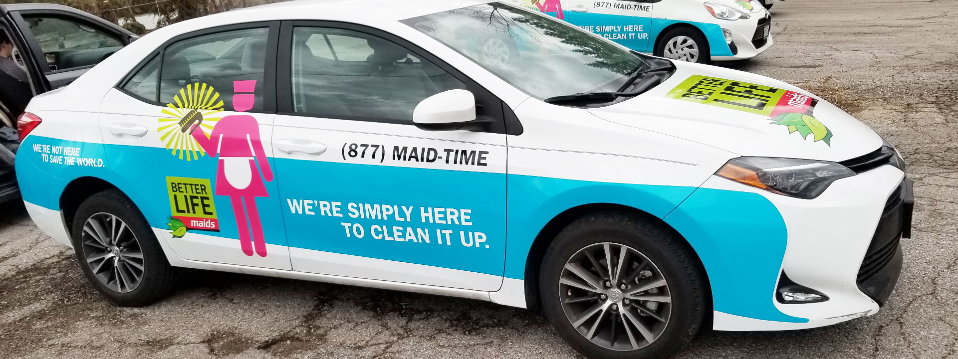 Vehicle Wraps Offer BIG Opportunities