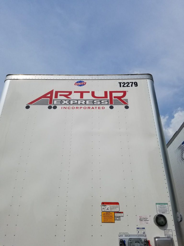 Artur Express Trailer Wrap