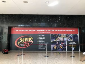 Scene 75 Wall Graphics on retail store