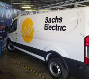 Sachs Electric Fleet Graphics