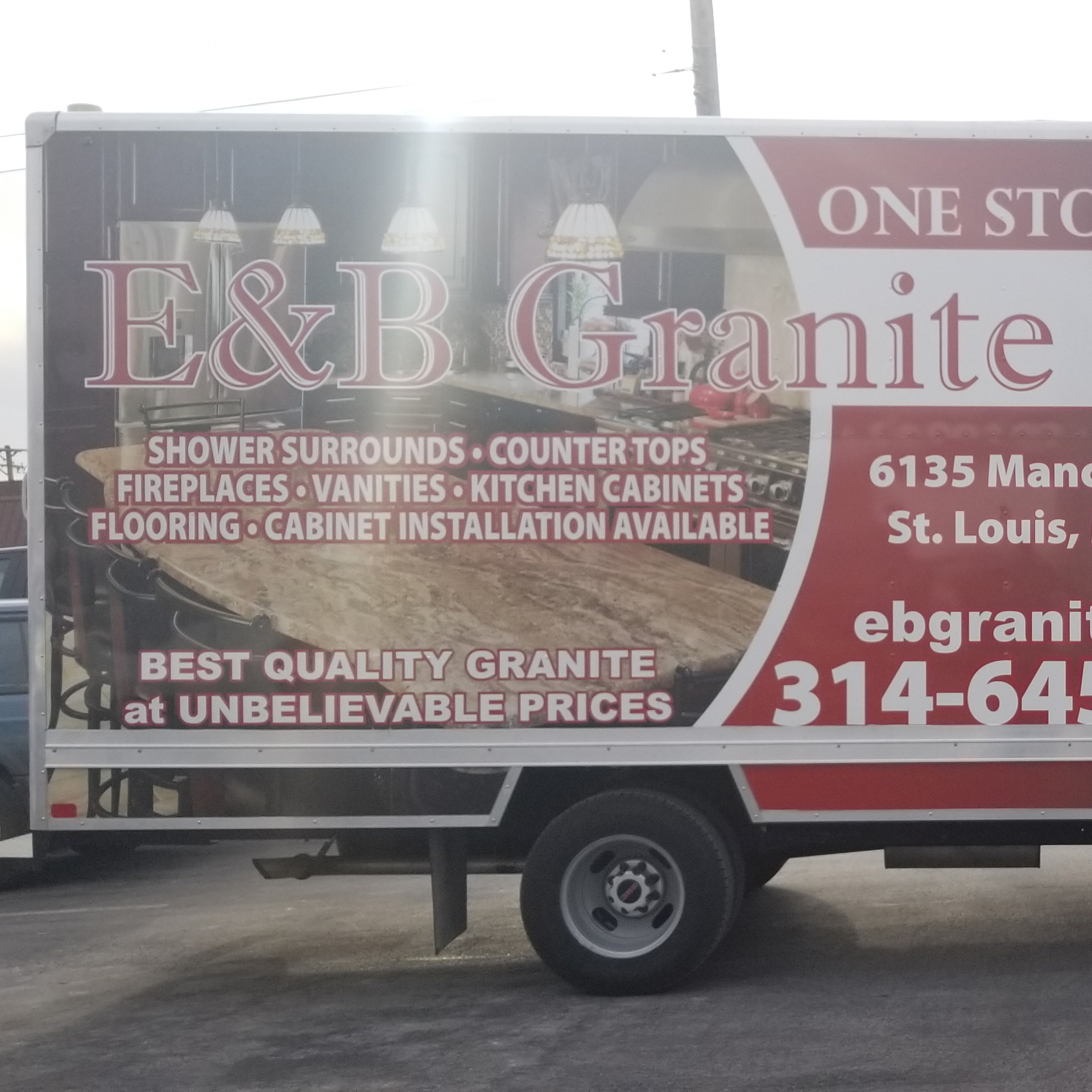 E & B Granite Inc. Installation on Truck…