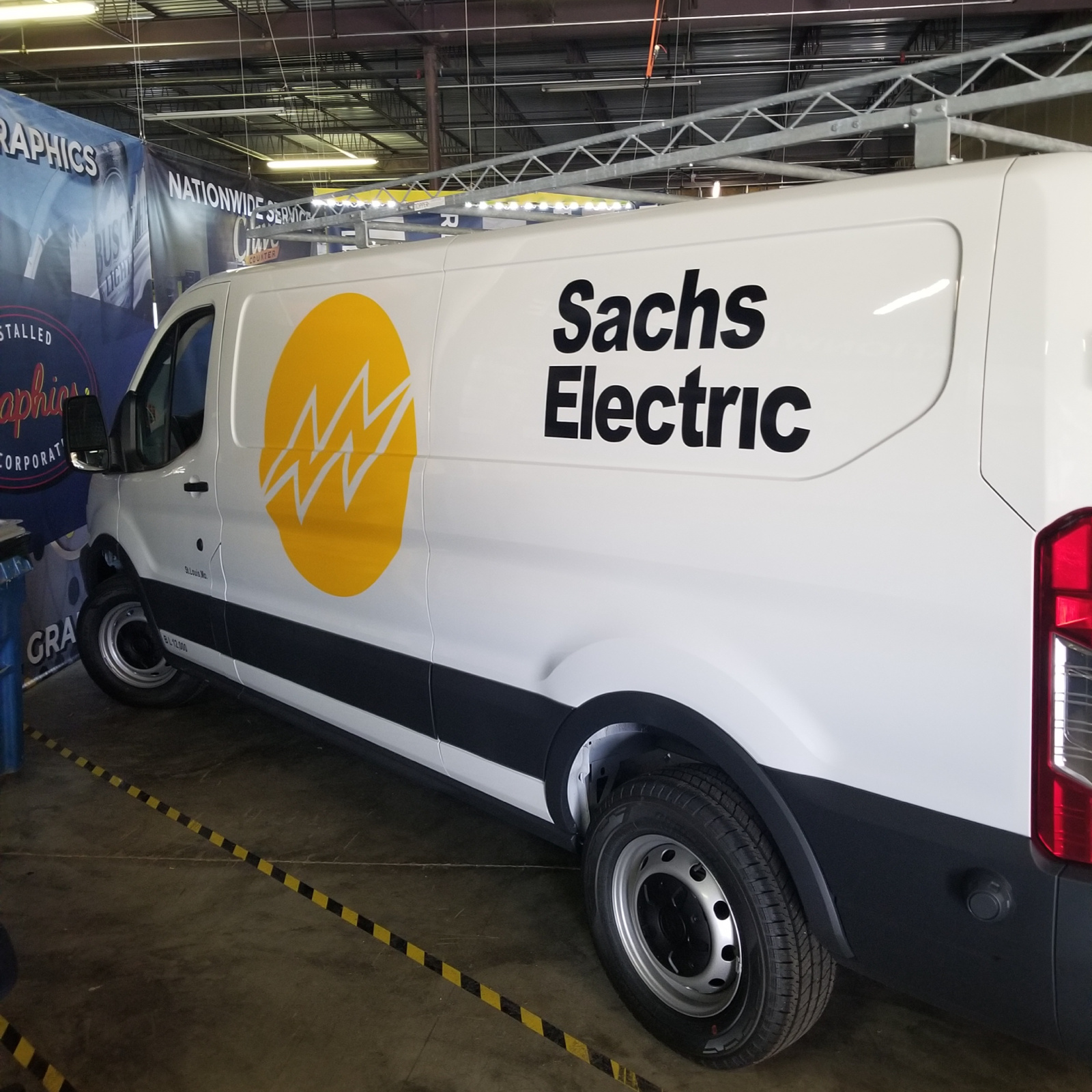 Sachs Electric Fleet Graphics…