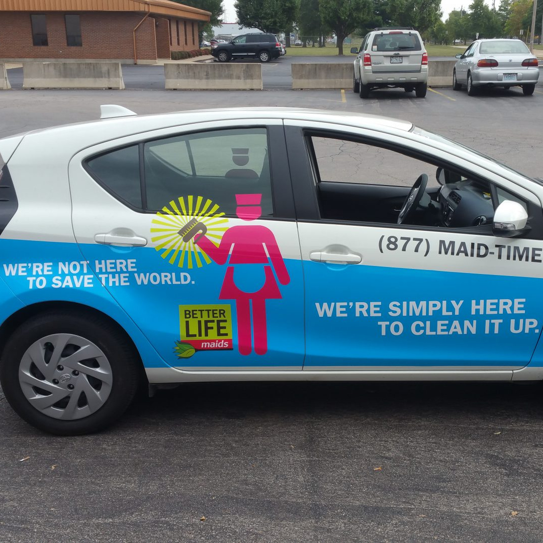 Better Life Maids Fleet Graphics…