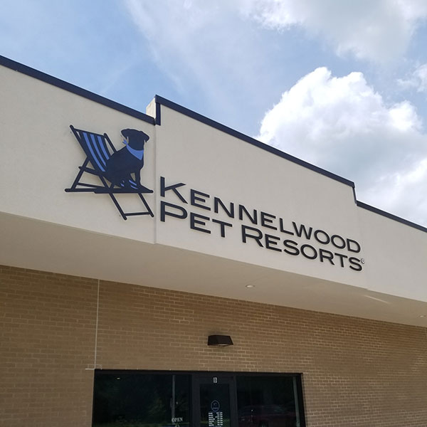 Kennelwood Custom Architectural Signage